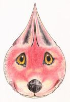 'Zorro Gota' ('Drop Fox') by Fabio-P