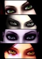 The Eyes of Alice II by jagged66