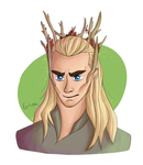King of Mirkwood by Luminatea