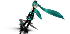 Sadistic Music Factory Miku by xXxEvenxXx