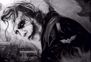 The joker (Why so serious?) by AndyHush