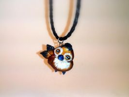 World of Warcraft Inspired Pepe Necklace by Euphyley
