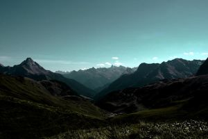 Alps Valley by Thegoldenmane