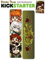 Strays Volume 3 Kickstarter Bookmark by celesse
