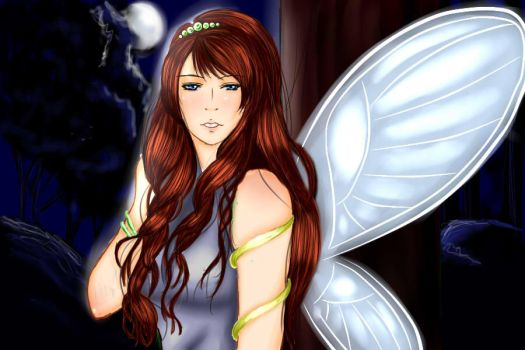 Fairy in the night by Nay2010