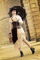 Steampunk Girl (I'm not Mary Poppins, seriusly) by jamyvampire