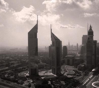 Emirates Towers. by asmoony