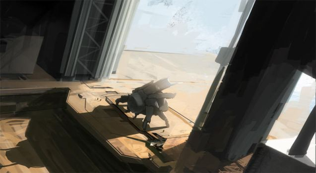 lunchtime speed paint by sundragon83