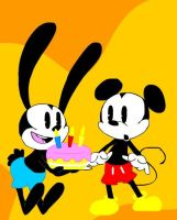 Happy birthday Mickey by SukiTenshi