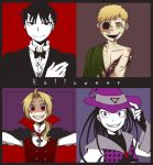 FMA: Happy Halloween 2012 by c0ralus