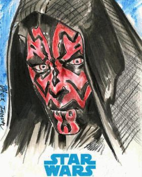 Darth Maul by AIart