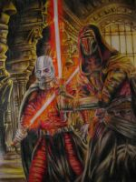Revan and Malak by Heroes-Die