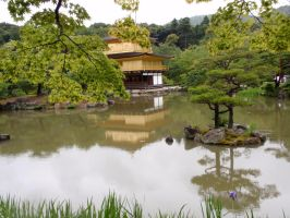 Rokuon-ji Temple by DreamsWithinMe
