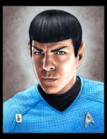 Zachary Quinto, Spock by louissollune