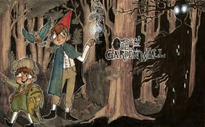 over the garden wall by starfishyy