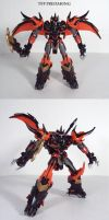 TFP Beast Hunters Predaking by Unicron9
