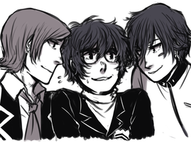 Protags by creylune