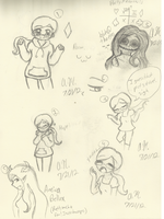 HS - Annie Doodles n Aneira by Anome-chan