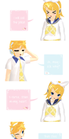 The reason why Rin/Len have the same last name by ShinichiLen
