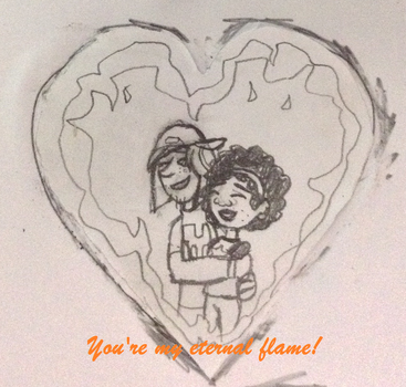 PoN: Valentine's Day Cards: Koki x Jimmy Z by YarasWorld