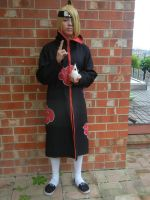Deidara cosplay, BETTER VERSION! by TheSilverApple