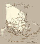 Good night boys... by chacckco