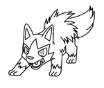 Poochyena template by shadowxmephiles