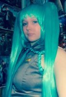What you see (Hatsune miku cosplay) by spirtofthedevil
