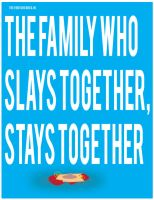 The Family That Slays Together, Stays Together by sdotwhoa