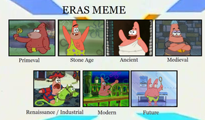 Patricks by era by Ragameechu