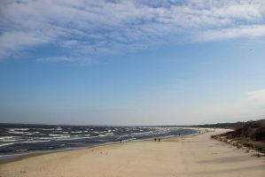 13-03 Beach - Baltic Sea by evionn