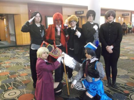 Little Black Butler Group by ashuii-chan123