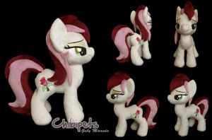 Roseluck Custom Plush by Chibi-pets