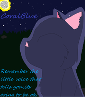 CoralBlue *Remember* by InvaderRain100