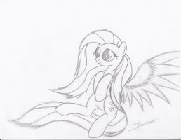 Fluttershy's Fluttery Flying Session by Xeirla