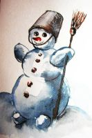 Snowman by pagone