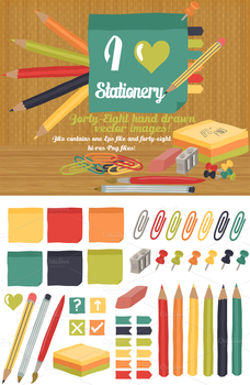 I Heart Stationery! by Bel0ved