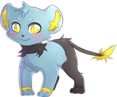 Shinx by Ginace