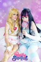 Panty and Stocking Cosplay by MelfinaCosplay