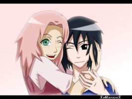 Re: SasuSaku: Smile by XxklxsxsxX