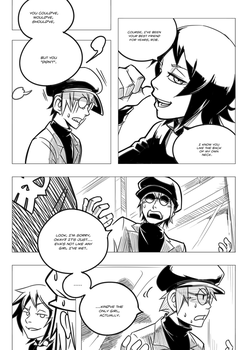 Digimon: Heroes Issue 1 Page 8 by HewyToonmore