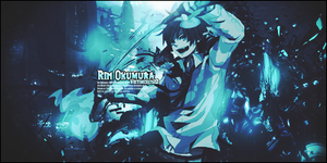 Rin Okumura Signature-3 V-2.0 by Victimized22