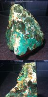 Malachite, Chrysocolla, Agate and Romanechite by Nisarialis