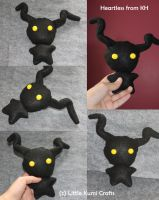 Heartless  chibi Plush from KH by lkcrafts