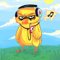 Angry Chick by Dice-x