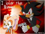 Shadow Love the Bunnies by StrikerGer92