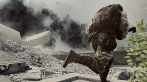 Battlefield 4 - Running through the dust by T0XICO