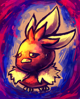 Torchic by MusicalCombusken