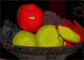 Fruit Bowl by bethrainbow