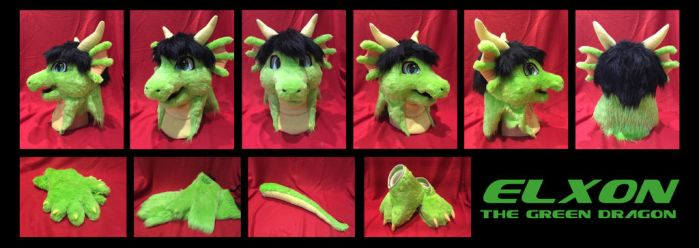 Elxon The Green Dragon Commission by yulittle